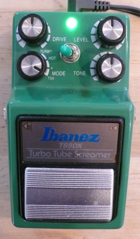 Modify your Ibanez TS9DX Tube Screamer with upgrades! Mod service Only!